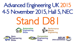 Advanced-Engineering-Show at NEC 4-5 Nov 2015