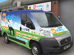 Air ABility HVAC EXPERTS van