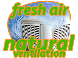 evap cooling fresh air